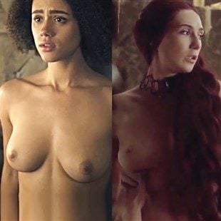 Nathalie Emmanuel And Carice van Houten's Nude Sex Scenes Color Corrected In HD