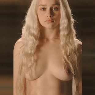All Of Emilia Clarkes Game Of Thrones Nude Scenes Brightened