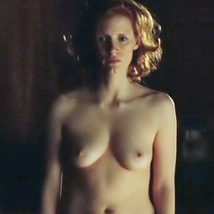 "Jessica Chastain Nude Scene From ""Lawless"" Brightened"
