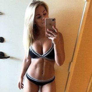 Paige VanZant Puts Her New Tits To Work