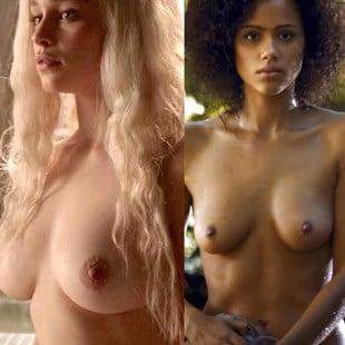 emilia clarke completely nude