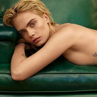 Cara Delevingne Naked And Prone Through The Years