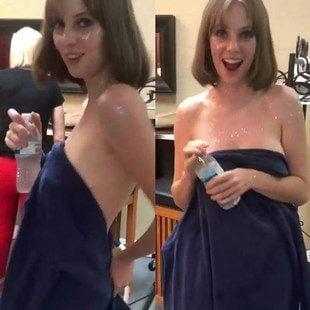 Maya Hawke Naked Towel Tease