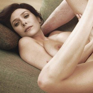 Elizabeth Olsen Nude Behind-The-Scenes of a Photo Shoot