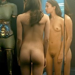 Alicia Vikander Full Frontal Nude Scenes Enhanced In 4K