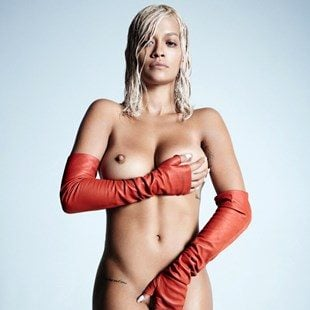 Rita Ora Nude Tits And Ass Outtakes