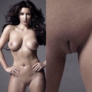 Kim Kardashian Naked Tits