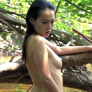 Rinko Kikuchi Nude Behind-The-Scenes Enhanced